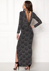 Sisters Point Gelly Dress 001 Black/silv