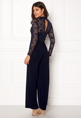 Sisters Point Gihi Jumpsuit Navy/Navy