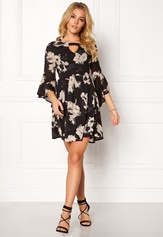 Sisters Point Grass Dress Black/flower