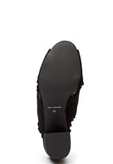 SOFIE SCHNOOR Shoe Suede Cross Black