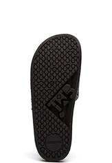 The White Brand Glitter Multi Slippers Black/Multi