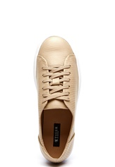 TIGER OF SWEDEN Crewe Leather Sneakers 1AG Light Taupe