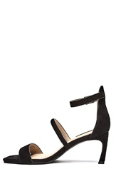 TIGER OF SWEDEN Nexoe Suede Sandals 050 Black