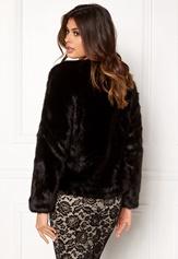 Twist & Tango Viola Faux Fur Jacket Black