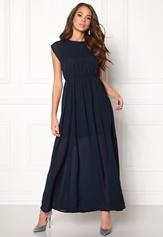 VERO MODA Dotta Wide Long Dress Navy Blazer