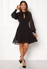 VERO MODA Mila L/S Short Dress Black