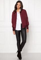 VILA Concrete new jacket Tawny port