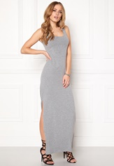 VILA Honesty New Maxi Dress Light Grey Melange