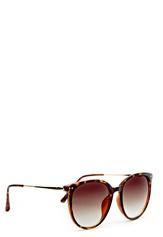 WOS La Mancha Sunglasses Ruskea