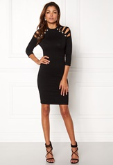WOW COUTURE Dillon Sweater Dress Black