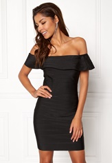 WOW COUTURE Sonnet Bandage Mini Dress Black Bubbleroom.fi
