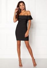 WOW COUTURE Sonnet Bandage Mini Dress Black