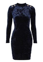Chiara Forthi Henny Velvet Dress