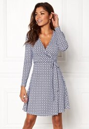 Chiara Forthi Sonnet Mini Wrap Dress