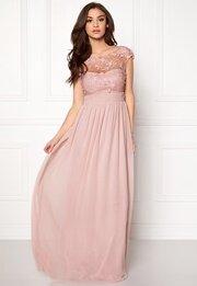 Goddiva Chiffon Maxi Dress