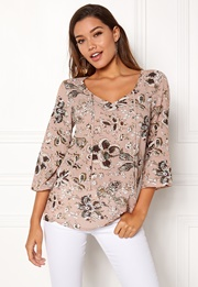 Happy Holly Heather blouse