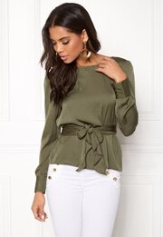 ONLY Natalia L/S Wrap Top