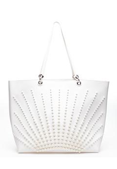 ALPINI Shopper, Pearl Vit Bubbleroom.se