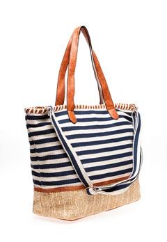 ALPINI Shopper, Stripe Blå Bubbleroom.se