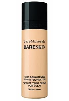 bareMinerals bareMinerals BARESKIN Pure Brightening Serum Foundation SPF 20 - Bare Linen 03  Bubbleroom.se