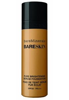 bareMinerals bareMinerals BARESKIN Pure Brightening Serum Foundation SPF 20 - Bare Sand 12  Bubbleroom.se