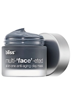 Bliss Bliss Multi Face Eted All In One Anti Aging Clay Mask  Bubbleroom.se