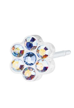 Blomdahl Blomdahl Caring Jewellery Natural Daisy Rainbow/Alexandrite (5mm)  Bubbleroom.se