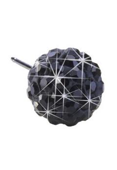 Blomdahl Blomdahl Caring Jewellery Natural Titanium Crystal Ball Black (10mm)  Bubbleroom.se