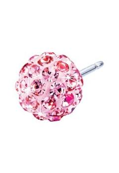 Blomdahl Blomdahl Caring Jewellery Natural Titanium Crystal Ball Light Rose (8mm)  Bubbleroom.se