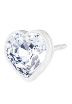 Blomdahl Blomdahl MP Heart Crystal (6mm)  Bubbleroom.se