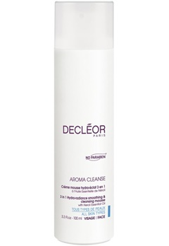 Decleor Decleor 3 In 1 Hydra-Radiance Smoothing And Cleansing Mousse  Bubbleroom.se