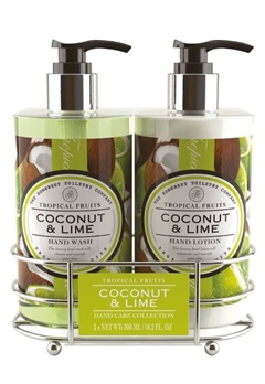 Durance Durance Tropical Fruits Caddy Set Coconut And Lime  Bubbleroom.se