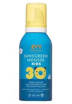 EVY EVY Sunscreen Mousse Kids SPF 30  Bubbleroom.se