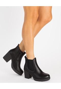 Glossy Boots, Amanda Svart Bubbleroom.se