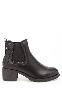 Glossy Boots, Britt Svart Bubbleroom.se