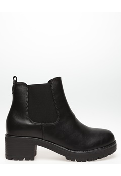 Glossy Boots, Jade Svart Bubbleroom.se