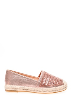 Glossy Espadrillos, Lexie Champagne Bubbleroom.dk