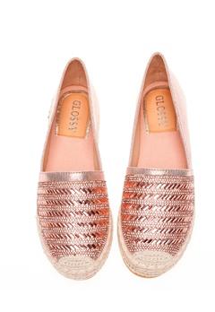 Glossy Espadrillos, Lexie Champagne Bubbleroom.se