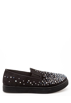 Glossy Sneakers, Bally Svart Bubbleroom.se