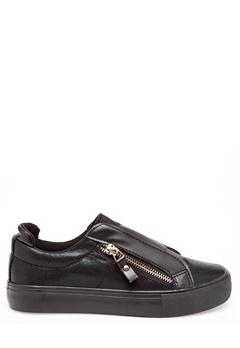 Glossy Sneakers, Binny Svart Bubbleroom.fi