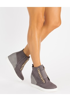 Glossy Wedge sneakers, Antonia  Bubbleroom.eu