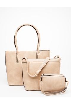 Have2have 3 Väskor, Stella Beige Bubbleroom.se