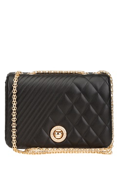 Have2have Quilted Bag, Inside Black and gold Bubbleroom.eu