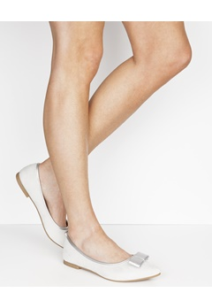 Have2have Ballerinaskor med spetsig tå, Rosy Ljust grå Bubbleroom.se