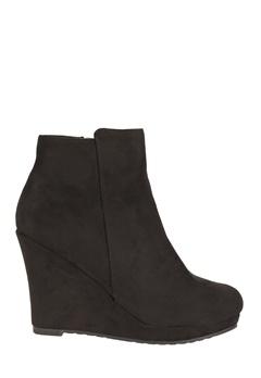 Have2have Boots med kilklack, Cool Svart Bubbleroom.se