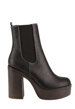 Have2have Boots med platåsåle, Trina1 Svart Bubbleroom.no