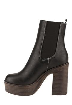 Have2have Boots med platåsula, Trina1 Svart Bubbleroom.se