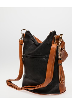 Have2have Bucket Bag, Nina Svart, brun Bubbleroom.se
