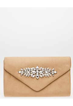 Have2have Clutch, Thea Beige Bubbleroom.se