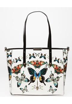 Have2have Handväska, Butterfly Vit Bubbleroom.se